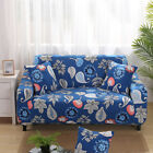 3-seater Stretch Sette Sofa Cover Couch Slipcover L-shape Stool Protector #4