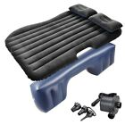 Inflatable Mattress Car Air Bed Backseat Cushion Travel Camping w/ Pillow Pump