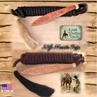 WESTERN BOSAL MECATE REIN 22FT WITH RAWHIDE KNOT & HORSE HAIR TASSEL