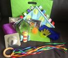 Sensory Toy Bundle Kit Baby Toddler Taggie Rattle Ball Mirror Teether Ball