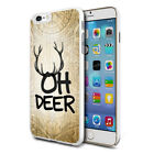 Oh Deer Design Hard Back Case Cover Skin For Various Phones
