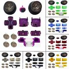 PS3 Replacement Kit + Silver Bullet Buttons & Shot Gun Thumbs for PS3 Controller