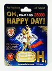 Oh Happy Day Diamond 15000 Pill Men Libido Enhancer 1 Capsule Free Shipping $18.95 USD on eBay