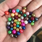 PICK YOUR COLOR Loose Akoya Oyster Pearls FOR PEARL CAGE PENDANTS, Undrilled