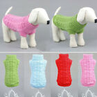 Pet Dog Warm Clothes Coat Apparel Jumper Sweater Puppy Cat Knitwear Costume