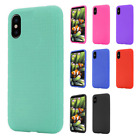 For Apple iPhone X Rubber SILICONE Soft Gel Skin Case Phone Cover Accessory
