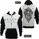SULLEN REAPER REAP WHAT YOU SOW HOODIE HOODED TOP NEW BIKER M-2XL BLACK WHITE