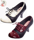 DANCING DAYS by BANNED LET THE GOOD TIMES ROLL 40s vintage LACE UP SHOES