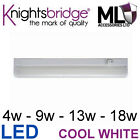 LED Linkable Under Cabinet Shelf Lighting Cool White Kitchen Strip Light Slim