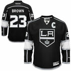 Dustin Brown 23 Black Los Angeles Kings Mens PREMIER JERSEY REEBOK NHL New