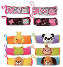 Pencil Pouch Bag Frog Dog Bear Duck Panda NEW
