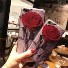 New For iPhone 6/6s/7/8 Plus Luxury Rose Retro Flower Silicone Soft Cover Case