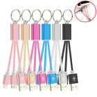 Phone Charger Data Accessories USB Keyring Cable Cell Sync Line Key Chain New