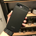 iFace Leather-Grain Rugged Rubber Shockproof Hard Case For Apple iPhone 8 8Plus