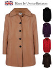 Women's Trench Coat Ladies Dress Hooded Long Coat Winter Warm Hood UK14 RRP: £70