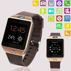 Bluetooth Smart Watch Wrist Phone DZ09 Camera w/ SIM Slot For All Smart Phones T