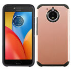 For Motorola Moto E4 PLUS Astronoot Hybrid Rubber Silicone Case Phone Cover