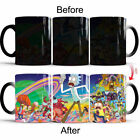 Rick and Morty Ceramic Color Changing Mug Heat Sensitive Magic Coffee Cup