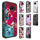 For Motorola Moto E4 PLUS Astronoot Hybrid Rubber Case Phone Cover Accessory