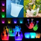 Various LED Ice Cooler Bucket Bar Beer Wine Drinks Box Christmas Decor 3.5L-10L