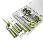 Wolfgang Puck Ultimate Kitchen Tool Set 11 pc with Storage Box Assorted Colors