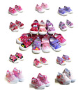 New Baby Toddler Girls Canvas Shoes Loop Strap -Casual Wear Size 3-8