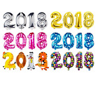 2018 Gold Aluminum Foil Balloon New Year Letter Events Festive Party Gift UK New