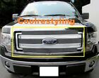 For 2013 14 Ford F150 F-150 Billet Grille Grill Inserts Polished Face 4pcs boton