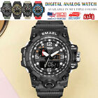 SMAEL Multi-function Digital Waterproof Date Military Quartz Men Wristwatches image