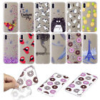 Ultra Thin Slim Clear TPU Soft Rubber Pattern Case Cover Skin For Apple iPhone