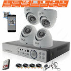 CCTV 4 Channel HD 4MP 1080P Night Vision Outdoor DVR Home Security System Kit
