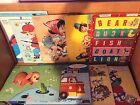 Lot of 10 Pre-School Inlay Inlaid Puzzles, Fairchild, Whitman, Fisher Pice