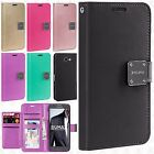 For Samsung Galaxy J3 Luna Pro Premium Flip Out Pocket Wallet Case Pouch Cover