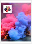 6 Colors Smoke Cake Smoke Effect Show Round Bomb Photography Aid Toy Divine Gift