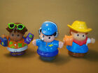 Lot of 3 Fisher Priice-- Little People---NICE---
