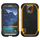 LOT Hybrid Rugged Rubber Matte Hard Case Cover for Samsung Galaxy S5 GS5 Active