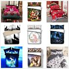 Duvet Cover Pillow Cases Single/Double/King Sizes Quilt Cover Bedding Set New