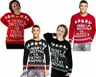 New Unisex Women's Men's Merry Christmas Ya Filthy Animal Xmas Knitted JumperΣ