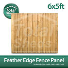 6ft x 5ft FEATHEREDGE CLOSEBOARD PANELS ***PACK OF 10***
