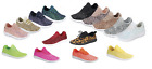 Внешний вид - Girls Youth Kids Sequin Glitter Lace Up Fashion Shoes Comfort Athletic Sneakers