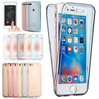 Shockproof 360° Silicone Protective Clear Case Cover for Phone XS 5s 6s 7 8 Plus