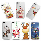 For iPhone X 8 7 6 Case Christmas Ultra Slim Rubber Soft TPU Silicone Back Cover