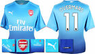 17 / 18 - PUMA ; ARSENAL AWAY SHIRT SS / OVERMARS 11 = ADULTS
