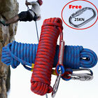 10M/20M/30M Static Rescue Rope Rock Climbing Rappelling+ Tree Arborist Cord