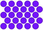 40mm Circle Dots Round Stickers, Qty 50 off, Lots of colours available !