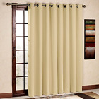 Blackout Thermal Curtain Panel For Patio French Front Door Window Drape Curtains