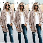 Winter Warm Women Fashion Fur Cardigan Loose Outwear Long Jacket Coat Oversized