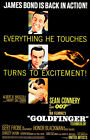 Goldfinger - James Bond - 1964 - Movie Poster $21.99 USD on eBay