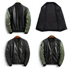 Stylish Winter Long Sleeve Mens Casual Bomber Collar Jacket Coats Tops Outwear