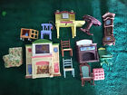 Mattel and Fischer Price Dollhouse Furniture and Characters